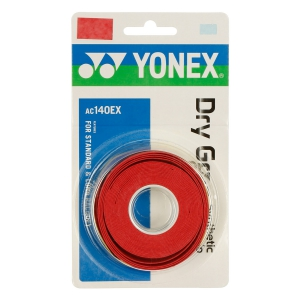 Overgrip Yonex Dry Grap x 3 Overgrip  Rosso Corallo AC140EXR