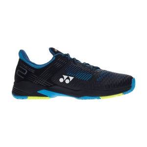 Men`s Tennis Shoes Yonex Sonicage 2 WIDE  Black/Blue SHTS2WEXN