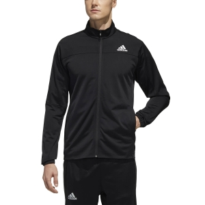 Men's Tennis Jackets Adidas 3s Knit Jacket  Black FS3771
