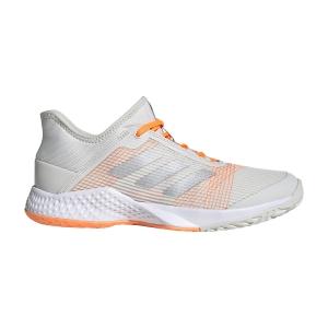Women`s Tennis Shoes Adidas Adizero Club  Orbit Grey/Silver Met/Signal Orange FU8152