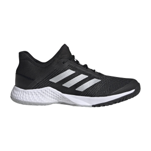 Calzado Tenis Hombre Adidas Adizero Club  Core Black/Silver Met/Grey Two F17 FU8091