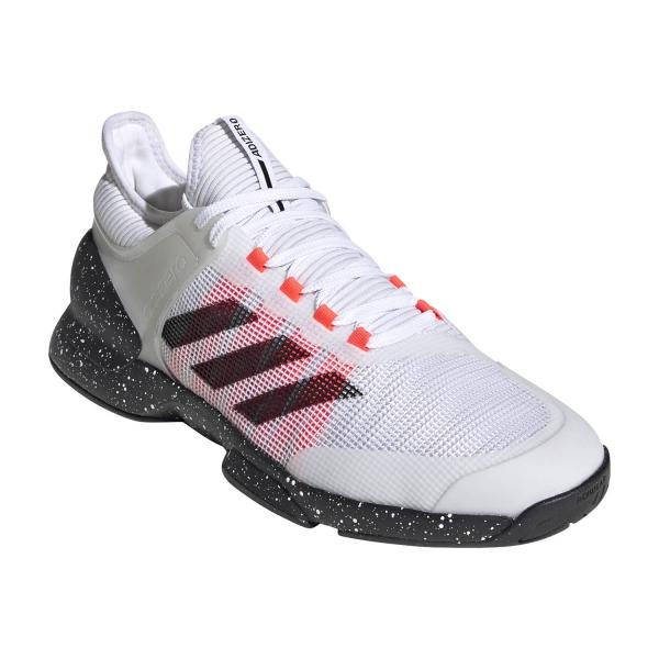 Adidas Adizero Ubersonic 2 - Ftwr White/Core Black/Signal Pink