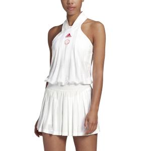 Vestito da Tennis Adidas All In One Vestito  White/Scarlet FT6410