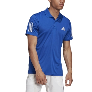 Polo Tenis Hombre Adidas Club 3 Stripes Polo  Team Royal Blue GI9291