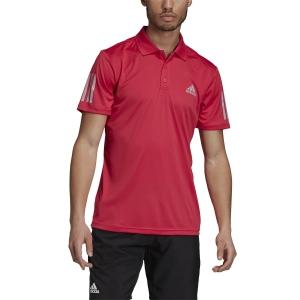 Polo Tenis Hombre Adidas Club 3 Stripes Polo  Power Pink GI9292