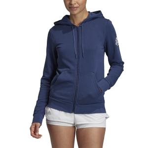 Camisetas y Sudaderas Mujer Adidas Club Logo Sudadera  Tech Indigo FU0878