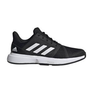 Men`s Tennis Shoes Adidas CourtJam Bounce  Core Black/Ftwr White FU8103