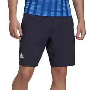 Pantaloncini Tennis Uomo Adidas Ergo 9in Pantaloncini  Legend Ink/White FT5807