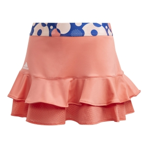 Gonne e Pantaloncini Girl Adidas Frill Gonna Bambina  Semi Flash Red GE4817