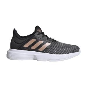 Calzado Tenis Mujer Adidas GameCourt  Core Black/Copper Metallic/Cloud White FU8129