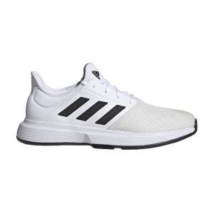 Calzado Tenis Hombre Adidas GameCourt  Ftwr White/Core Black/Grey One F17 FU8111