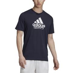 Adidas Logo Write Camiseta - Legend Ink