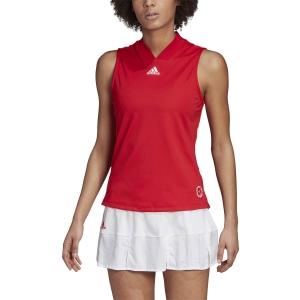 Canotte Tennis Donna Adidas Match Canotta  Scarlet/Signal Pink FT6409