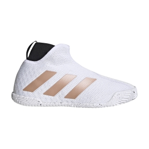 Scarpe Tennis Donna Adidas Stycon  Ftwr White/Copper Met/Core Black FY2946