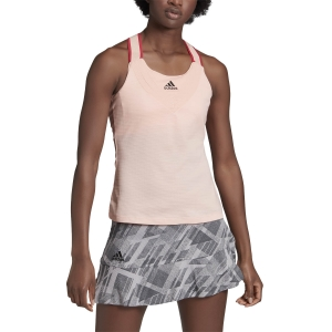 Top de Tenis Mujer Adidas Team Top  Haze Coral GH4634