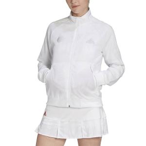 Giacche Tennis Donna Adidas Uniforia Giacca  White/Reflective Silver/Dash Grey GD5704