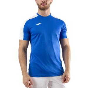 Men's Tennis Shirts Joma Academy III TShirt  Royal/White 101656.702