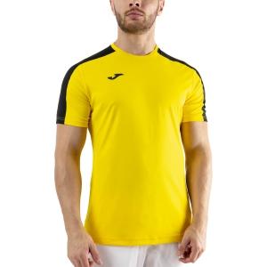 Men's Tennis Shirts Joma Academy III TShirt  Yellow/Black 101656.901