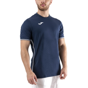 Men's Tennis Shirts Joma Campus III TShirt  Dark Navy/White 101587.331