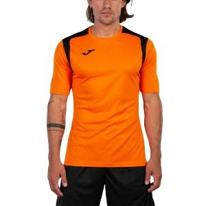 Maglietta Tennis Uomo Joma Championship V Maglietta  Bright Orange/Black 101264.801