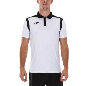 Polo Tenis Hombre Joma Championship V Polo  White/Black 101265.201