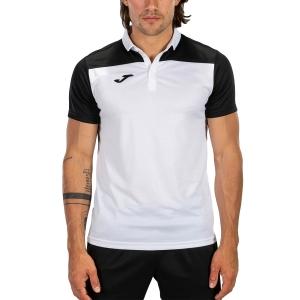 Polo Tenis Hombre Joma Crew III Polo  White/Black 101371.201