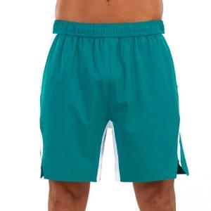Pantaloncini Tennis Uomo Joma Open II 8in Pantaloncini  Green 101451.422