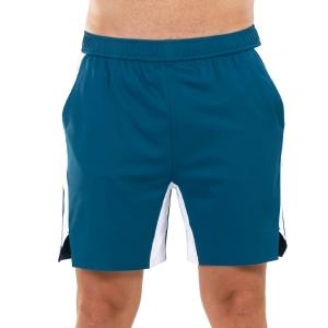 Pantaloncini Tennis Uomo Joma Open II 8in Pantaloncini  Morocan Blue 101451.725
