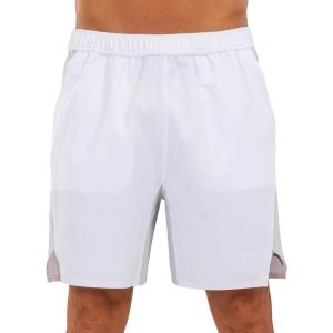 Pantaloncini Tennis Uomo Joma Open II 8in Pantaloncini  White 101451.271