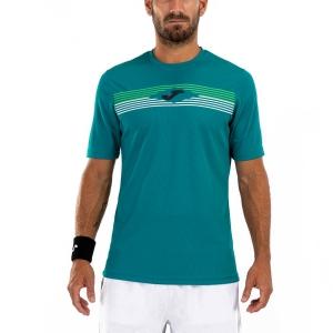 Maglietta Tennis Uomo Joma Open II Maglietta  Green 101445.422