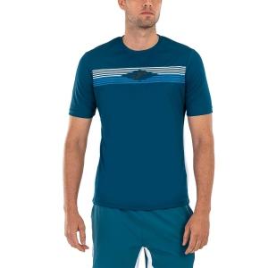 Maglietta Tennis Uomo Joma Open II Maglietta  Morocan Blue 101445.725