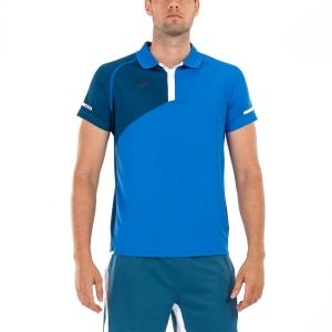Polo Tennis Uomo Joma Open II Polo  Campanula/Morocan Blue 101449.725