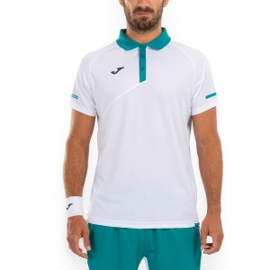Polo Tennis Uomo Joma Open II Polo  White 101449.200