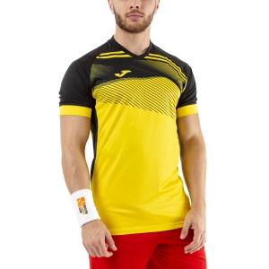Maglietta Tennis Uomo Joma Supernova II Maglietta  Yellow/Black 101604.901