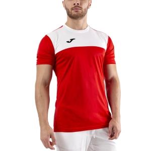 Men's Tennis Shirts Joma Winner TShirt  Red/White 100946.602