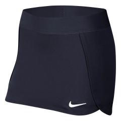 Nike Court Skirt Girl - Obsidian/White
