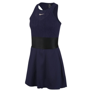 Tennis Dress Nike Maria Mesh Dress  Blackened Blue/Black/Stone Mauve CI9212498
