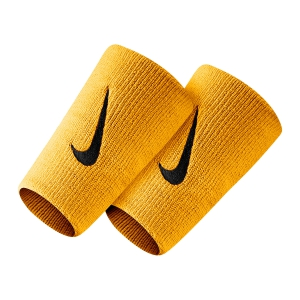 Tennis Head and Wristbands Nike Premier DoubleWide Wristbands  Laser Orange/Black N.000.2466.845.OS