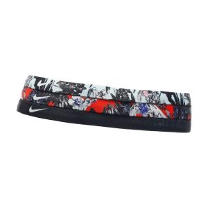 Tennis Head and Wristbands Nike Printed x 3 Band  Team Orange/Black/Topaz Mist N.000.2560.931.OS
