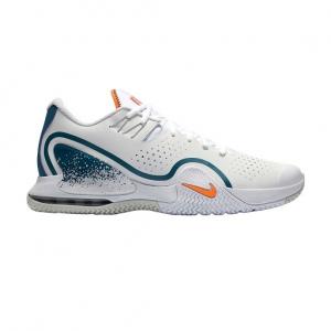 Men`s Tennis Shoes Court Tech Challenge 20  White/Total Orange/Green Abyss BQ0234101