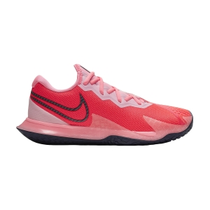 Calzado Tenis Mujer Nike Air Zoom Vapor Cage 4 HC  Laser Crimson/Blackened Blue/Pink CD0431604