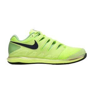 Men`s Tennis Shoes Nike Air Zoom Vapor X HC  Ghost Green/Blackened Blue/Barely Volt AA8030302
