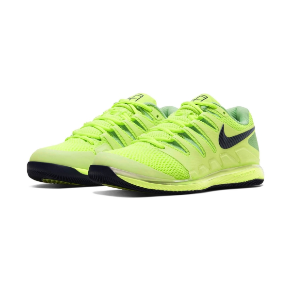 Nike Air Zoom Vapor X HC - Ghost Green/Blackened Blue/Barely Volt