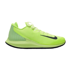 Men`s Tennis Shoes Nike Court Air Zoom Zero HC  Ghost Green/Blackened Blue/Barely Volt AA8018302