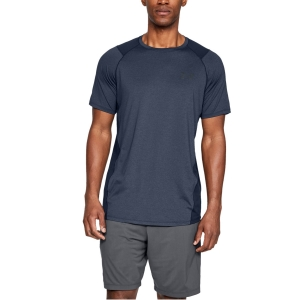 Camisetas de Tenis Hombre Under Armour MK1 Camiseta  Academy/Stealth Gray 13234150408
