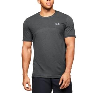 Men's Tennis Shirts Under Armour Seamless TShirt  Pitch Gray/Mod Gray 13514490012