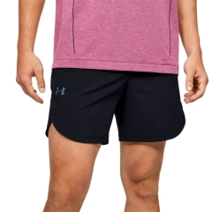 Under Armour Stretch 7in Shorts - Black/Metallic Solder