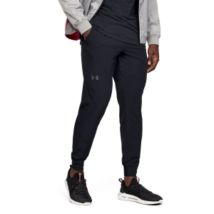 Pantalones y Tights Tenis Hombre Under Armour Unstoppable Pantalones  Black/Pitch Gray 13520270001