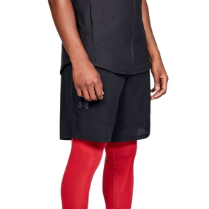 Men's Tennis Shorts Under Armour Vanish Woven 8in Shorts  Black/Jet Gray 13286540001