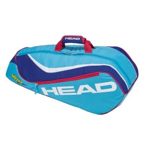 Junior Tennis Bag Head Junior Combi Novak Bag  Light Blue/Blue 283478 LBBL